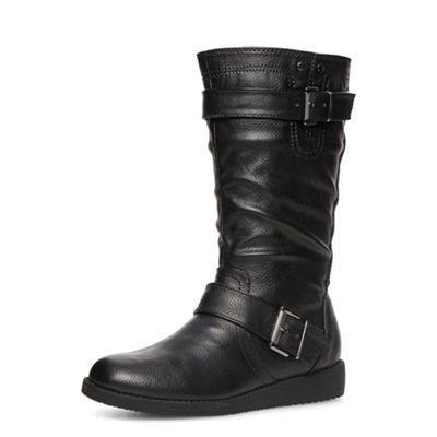 Dorothy Perkins Black mid-calf boots