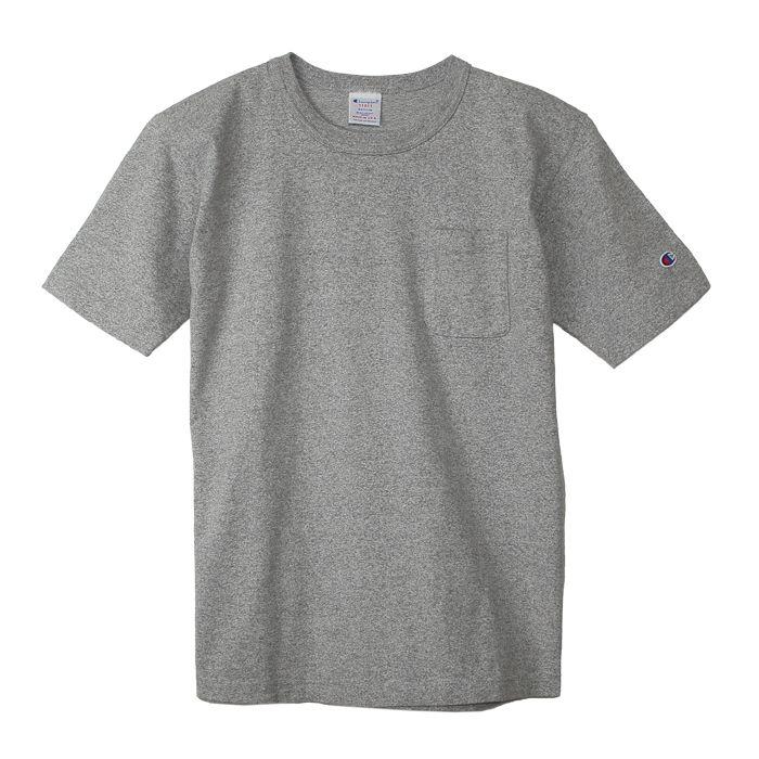 e3d78585 Champion Japan - T1011 Pocket US T-shirt (Oxford Gray) | Apparel in ...