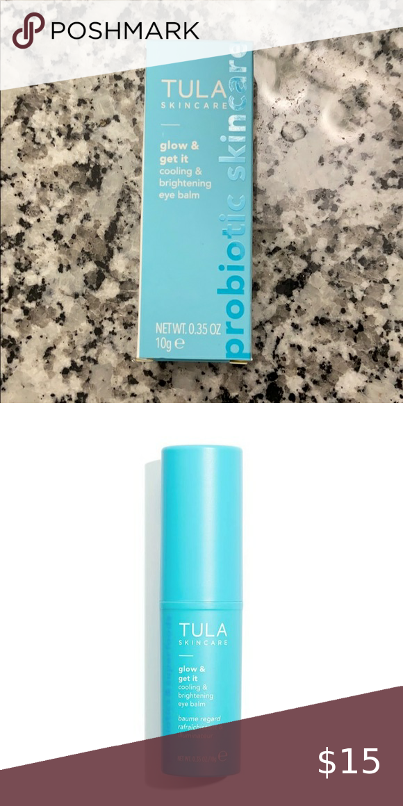 Tula Cooling Brightening Eye Balm Nwt In 2020 The Balm
