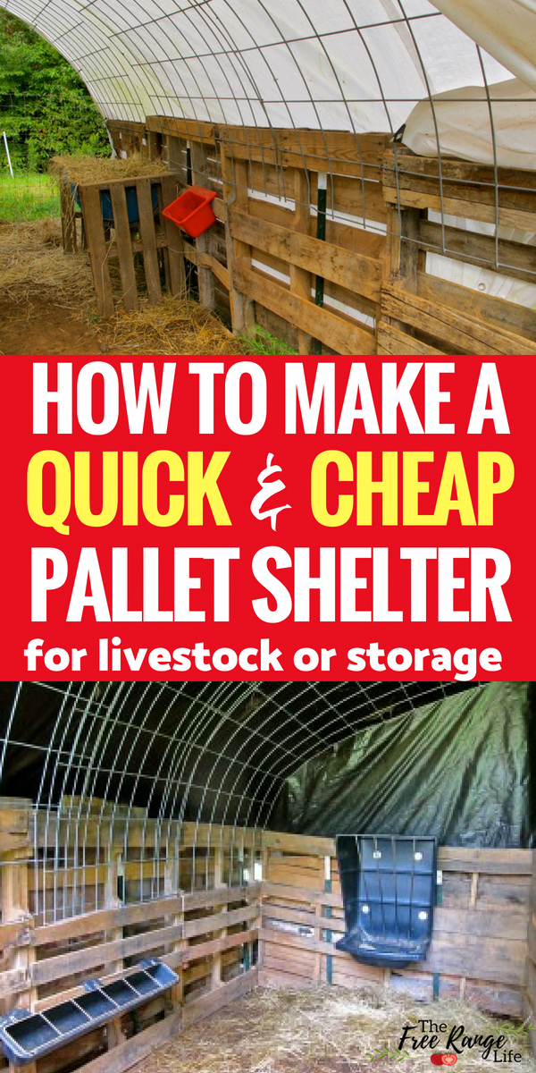 Pallet Projects: Homesteads: Make this quick and easy ...