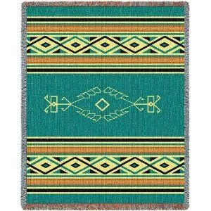 Navajo Rain - 69 x 48 Blanket/Throw