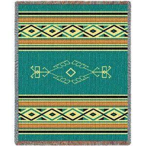 Navajo Rain - 69 x 48 Blanket/Throw