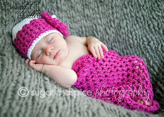 Crochet PATTERN Newborn Cocoon Pattern Photography Props Newborn ...