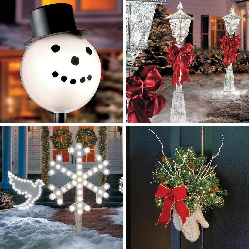 Winter Wonderland Outdoor Christmas Decoration Ideas Outdoor