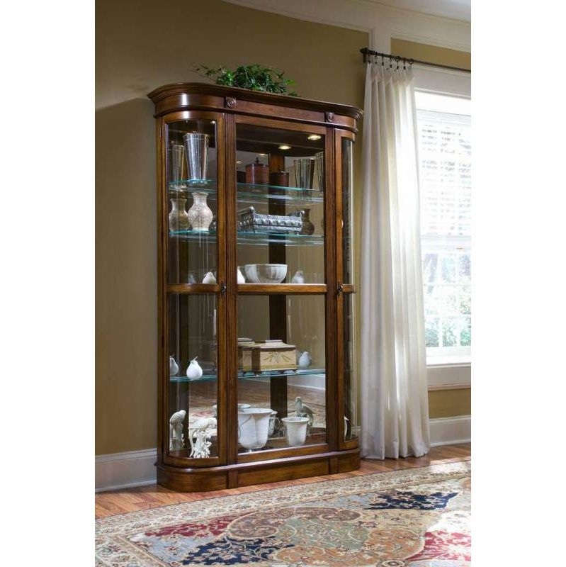 Pulaski Salerno Curio 21131 Best Online Furniture Stores