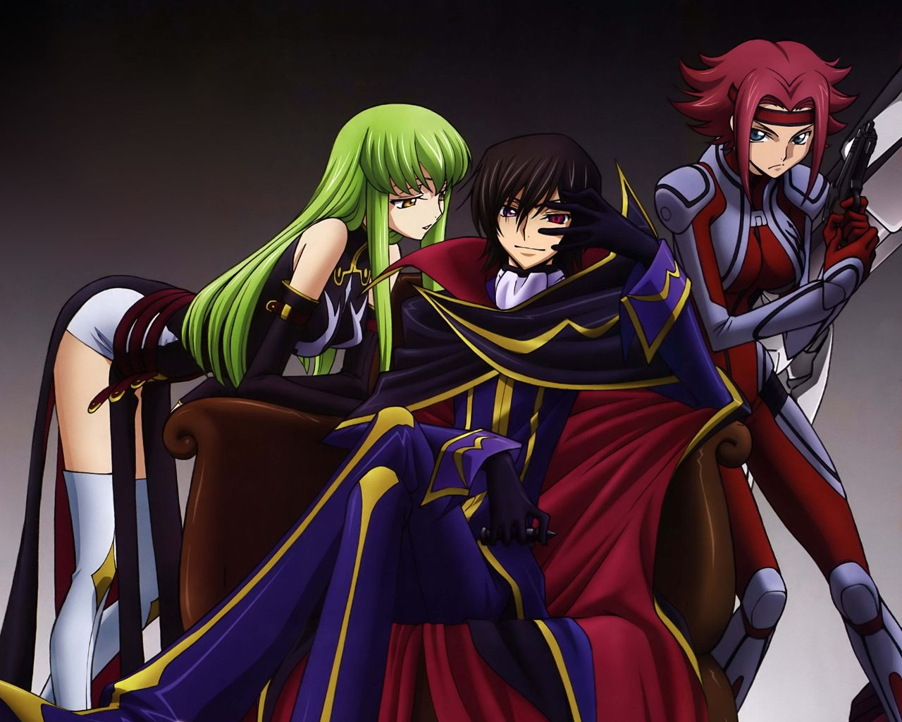Code Geass Lelouch And Kallen