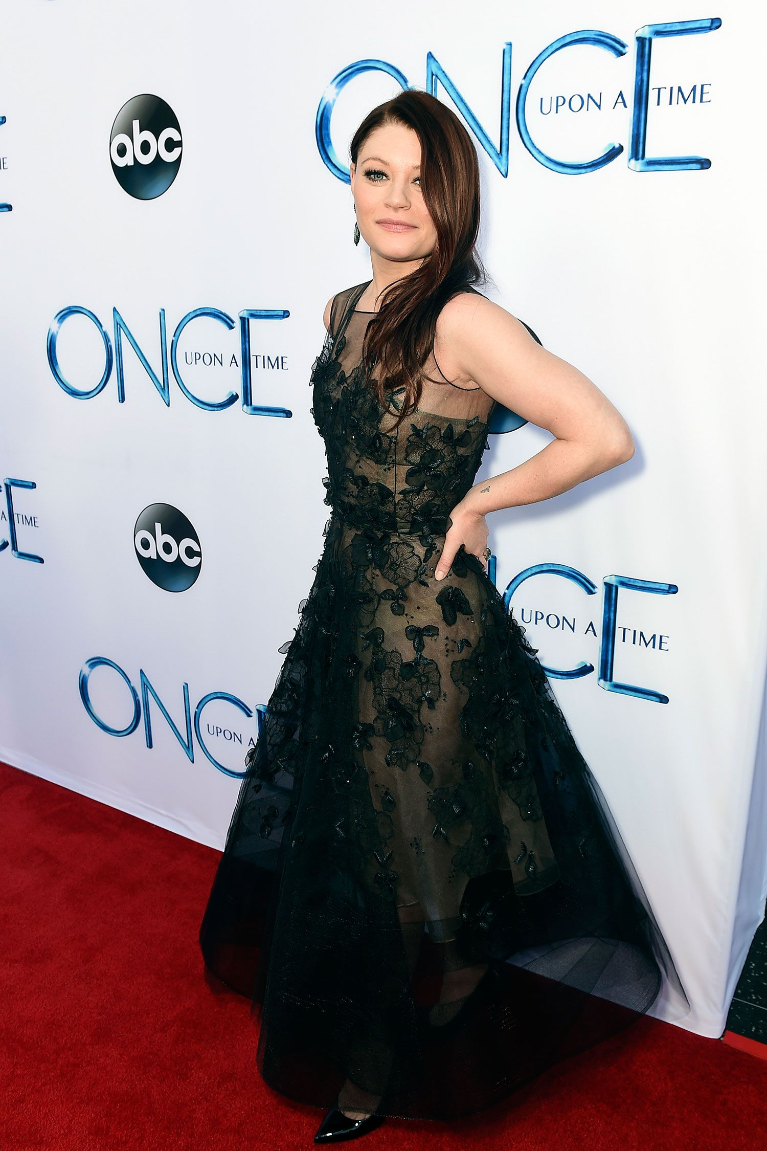 Emilie de Ravin attends a screening of ABC's 'Once Upon A Time' Season 4 at the El Capitan Theatre on September 21, 2014 in Hollywood, California.