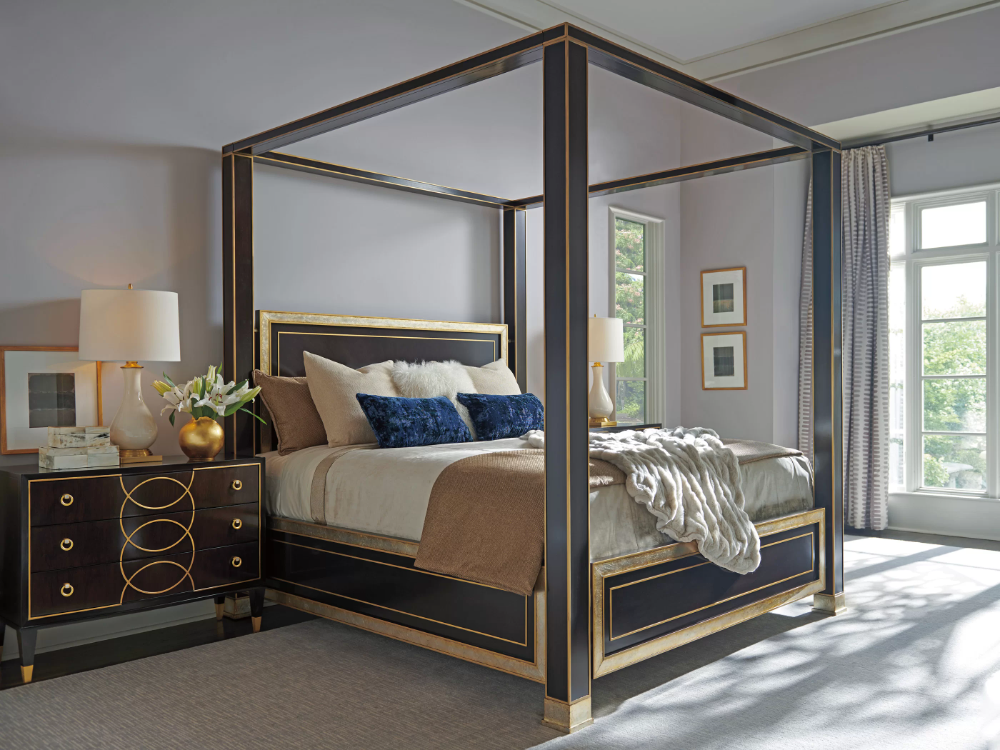 Carlyle St. Regis Canopy Bed in 2020 Bedroom set, Canopy