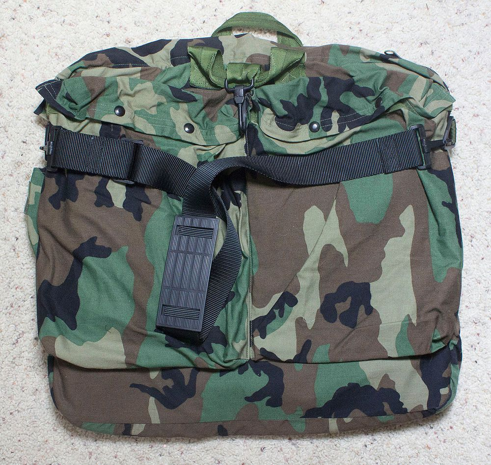 0101d2767e USED U.S. MILITARY HGU-56 P FLYERS HELMET BAG LARGE ARMY MARINES USAF USMC  PILOT