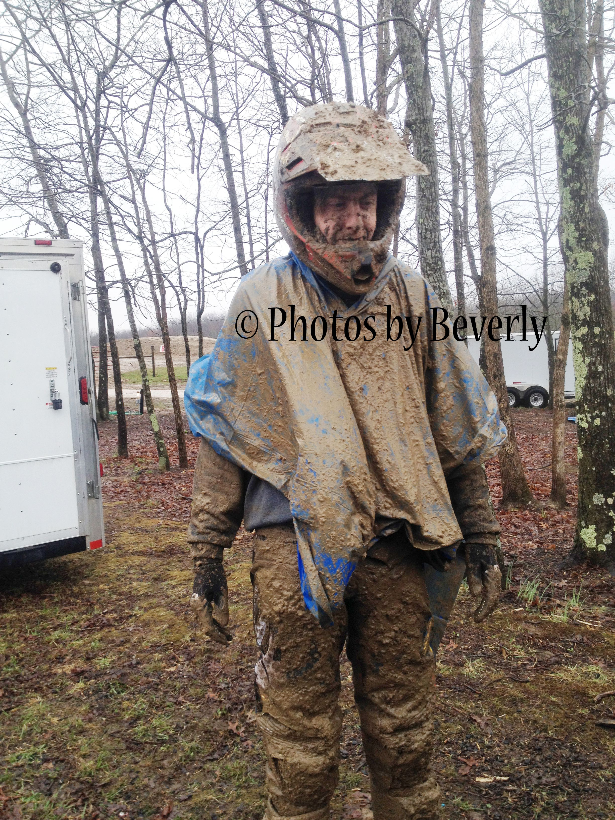 After a Mud race