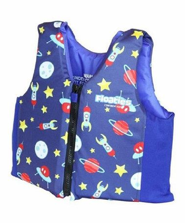 Another great find on #zulily! Blue Rockets Floaties Swim Vest - Toddler #zulilyfinds