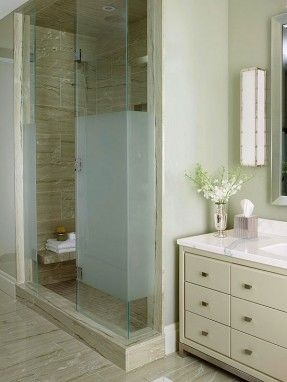 Frosted Glass Bathroom Accessories - Foter | Baths | Pinterest
