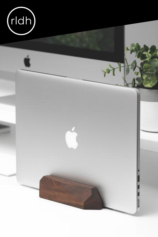 Vertical Laptop Dock for MacBook