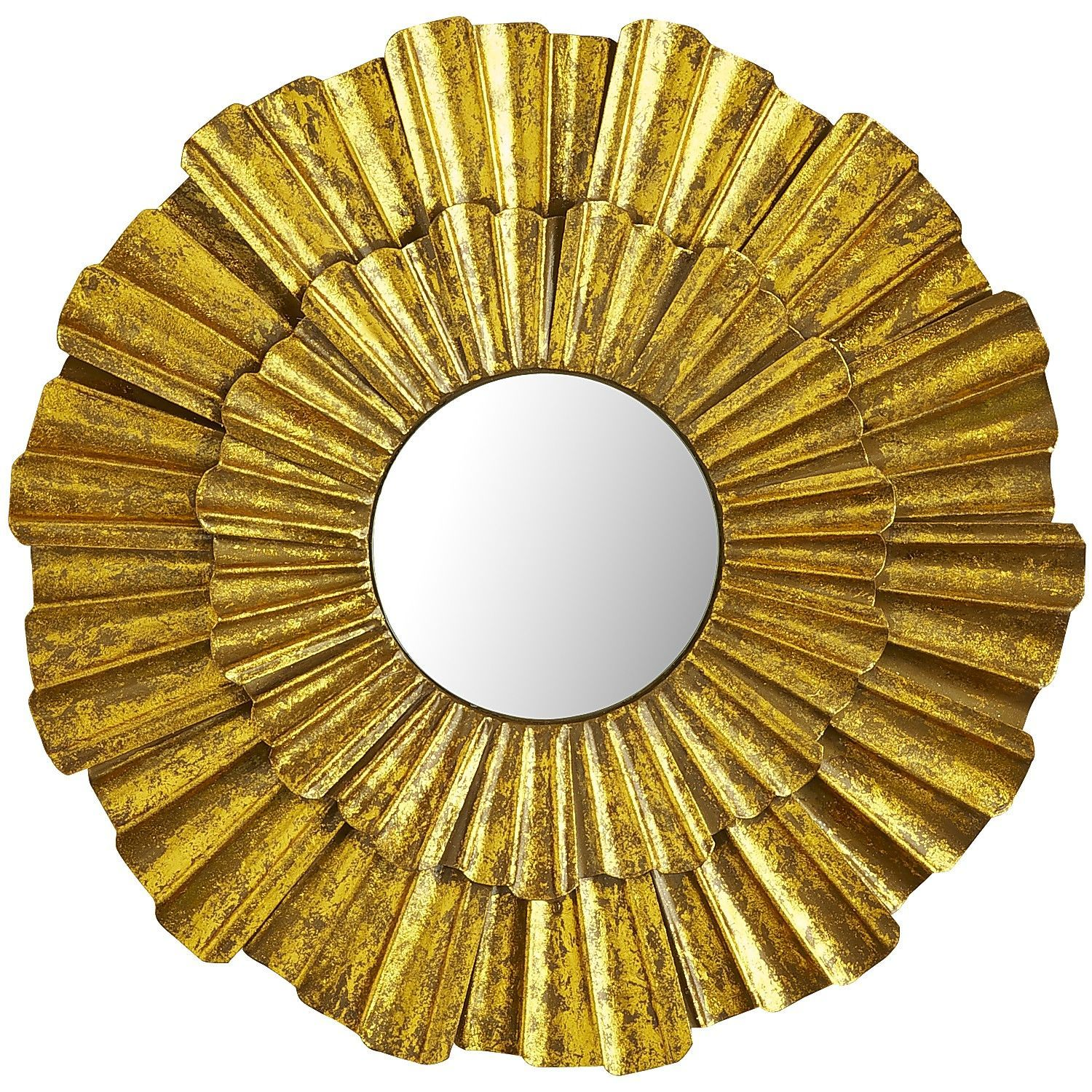 Golden Wave Mini Mirror | Pier 1 Imports$31.96 SALE $39.95 REG Item ...