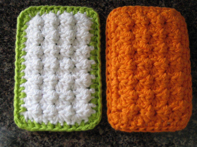 PATTERN - Cotton Crochet Cloth Sponge Scrubbies - PATTERN. $4.00 ...