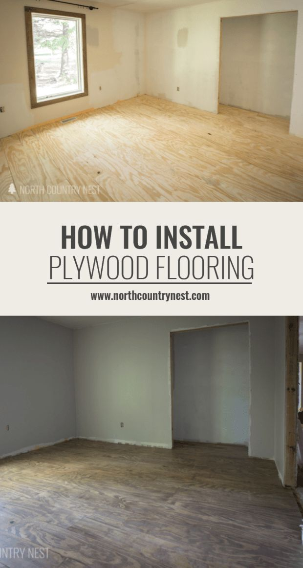 One Room Challenge Week Two How To Install Plywood Flooring - What is the cheapest flooring to install
