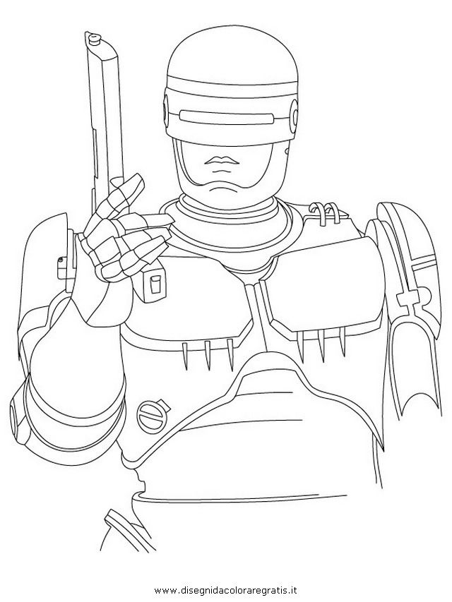 Coloring Page Robocop Superheroes 6 Printable Coloring Pages Coloring Pages Robocop Printable Coloring Pages