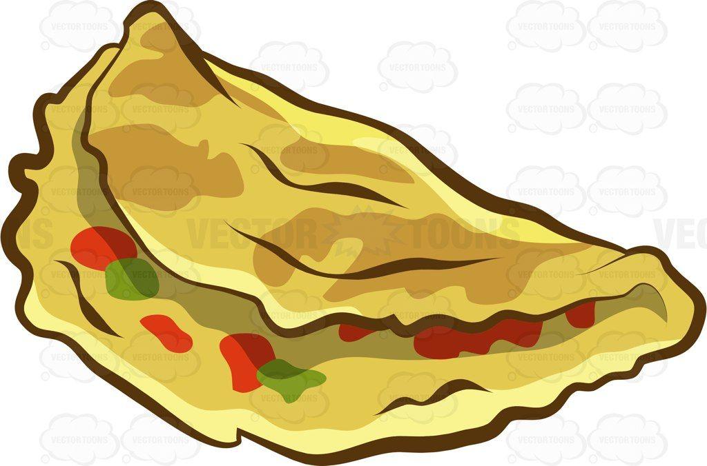 folded vegetable omelet rh pinterest com Cajun Sauteed Shrimp Sauteed Shrimp Scampi