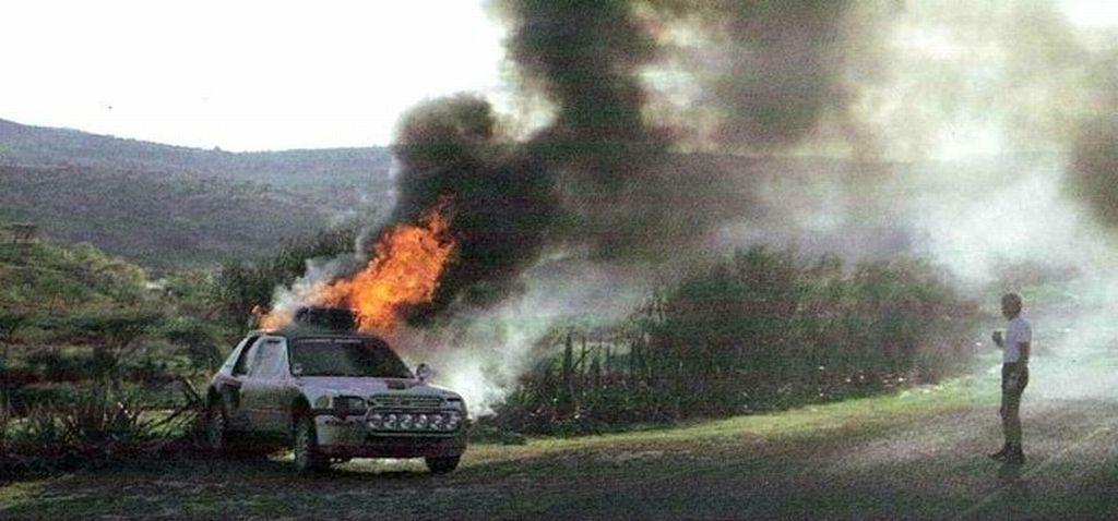 Vatanen... Peugeot T16 ...Safari Rally