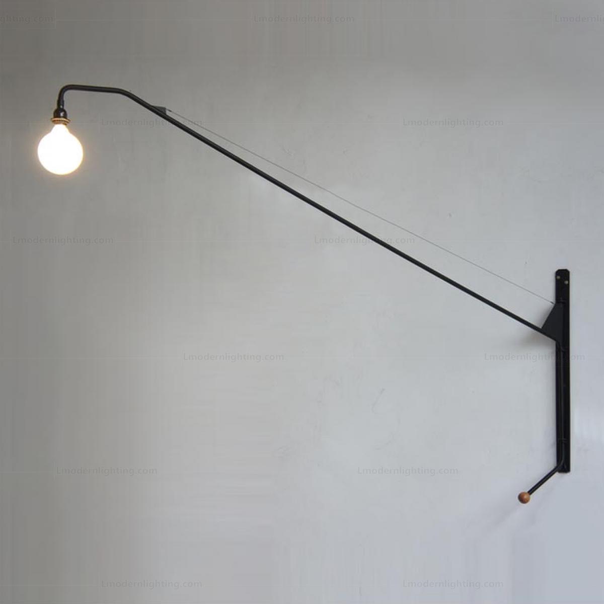 Long Pole Steel Potence Wall Light Wall Lights Wall Lamp Light
