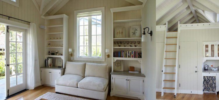 Granny pods interiors #grannypods Inside Granny Pods Are Rooms Full Of Charm And... #grannypods