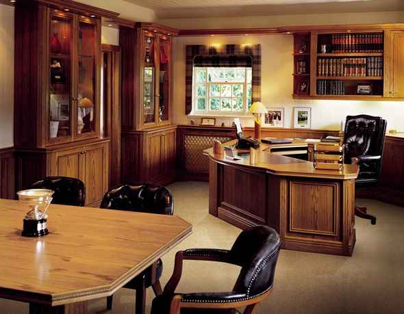 Contemporary Bespoke Executive Office Furniture Conquest