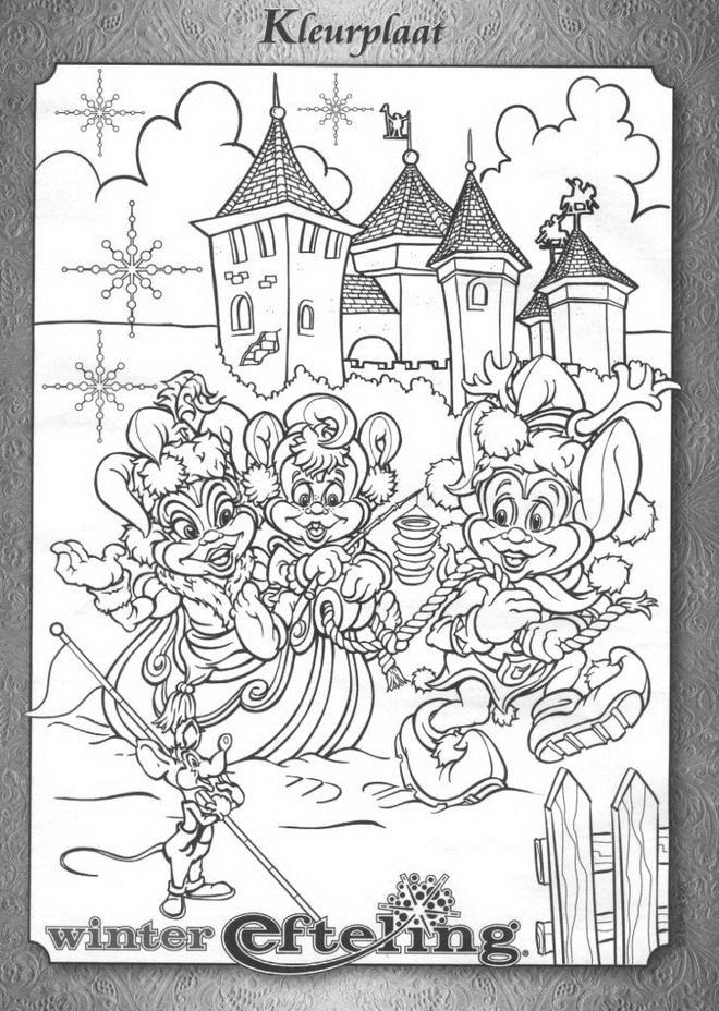 Efteling Kleurplaat Pardoes Kleurplaat Op Kids N Fun My Coloring Pages Pinterest
