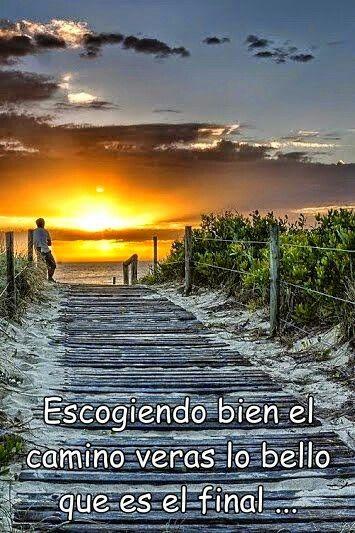 Paisaje Con Reflexion Frases Atardecer Mensajes De Amor Y