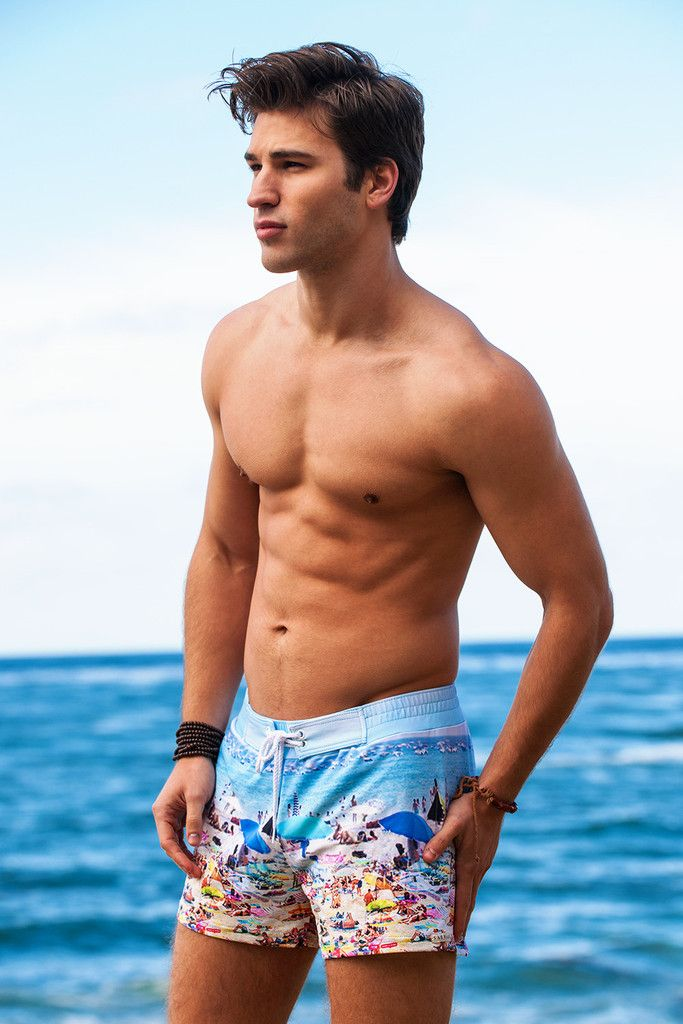 Key West Retro Lycra Swimmer Sauvage Swimwear Traje De Bano