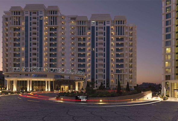 Kempinski Bakidan Gedir Http Goo Gl Xjalf2 Hotel Building Multi Story Building
