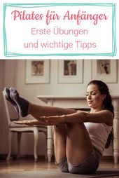 Pilates for beginners: First exercises and important information   - Fitness - #Beginners #Exercises...