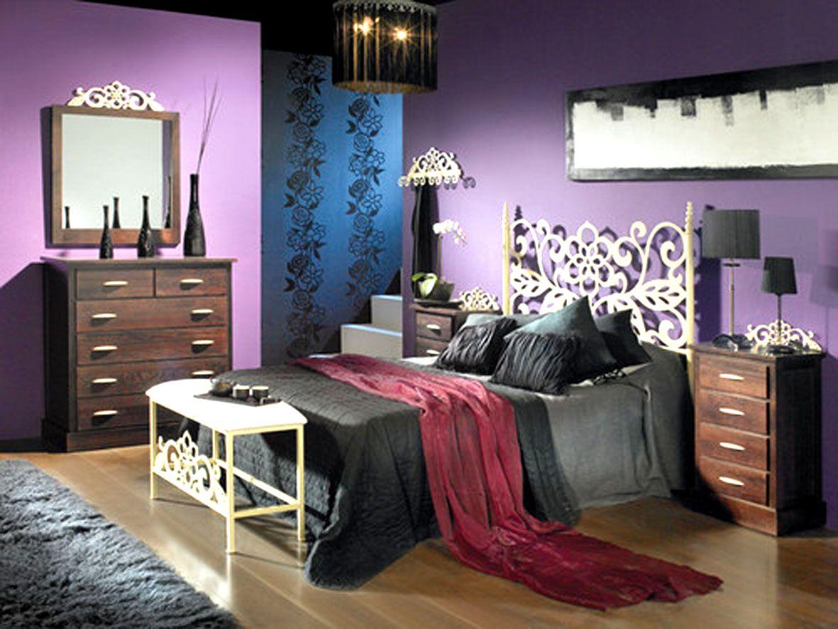 Paredes lilas deco en 2019 home decor decor y furniture - Decoracion paredes dormitorios ...