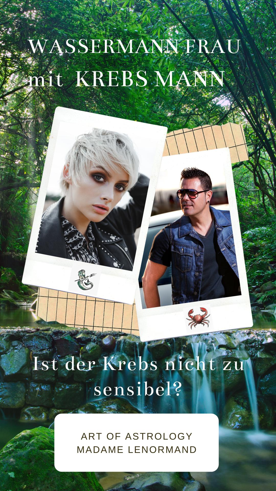 Krebs Mann & Wassermann Frau - Liebe? in 2020 | Krebs mann