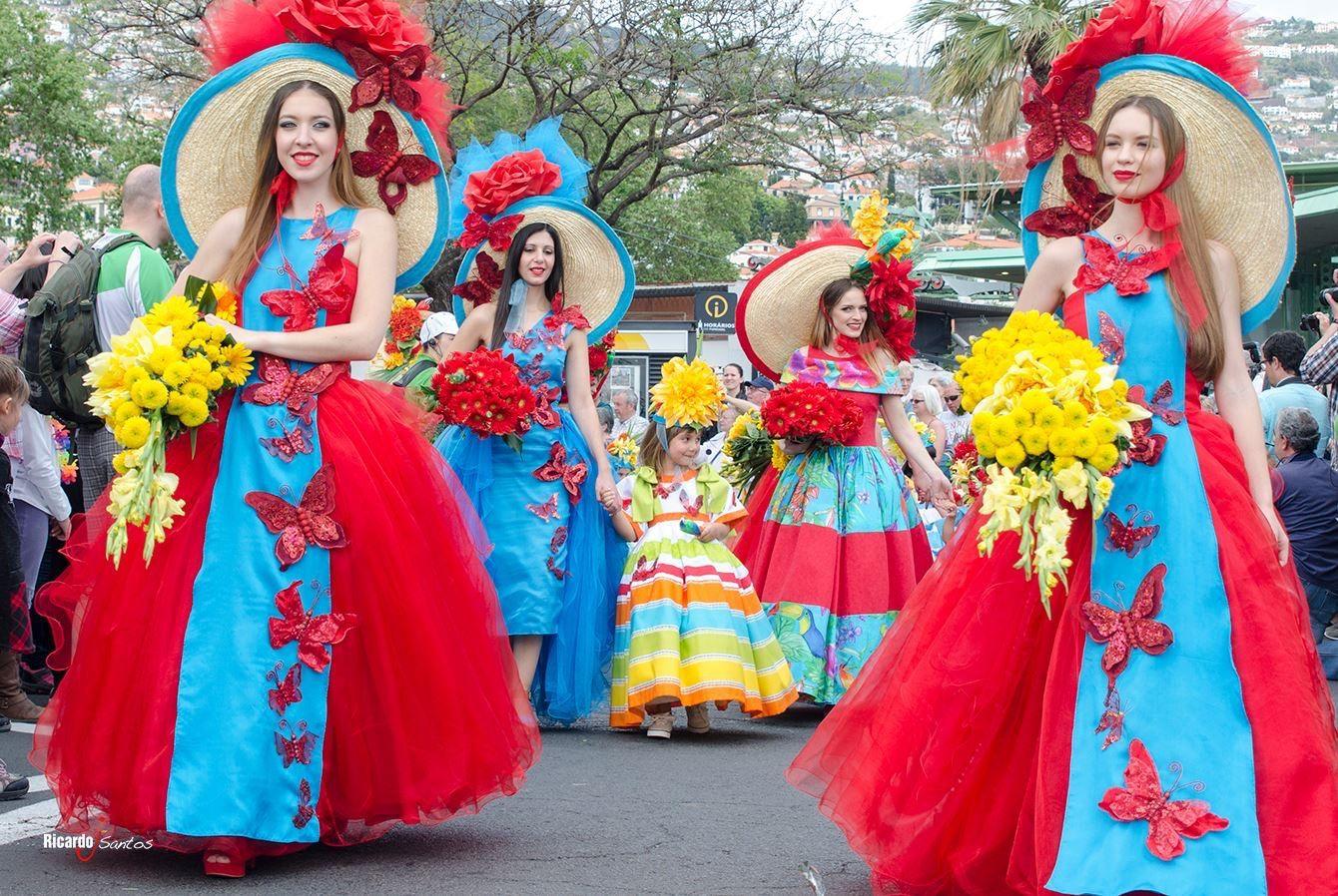 Madeira Flower Festival 2015 Mil Cores Flower Festival Festival Festival Hat