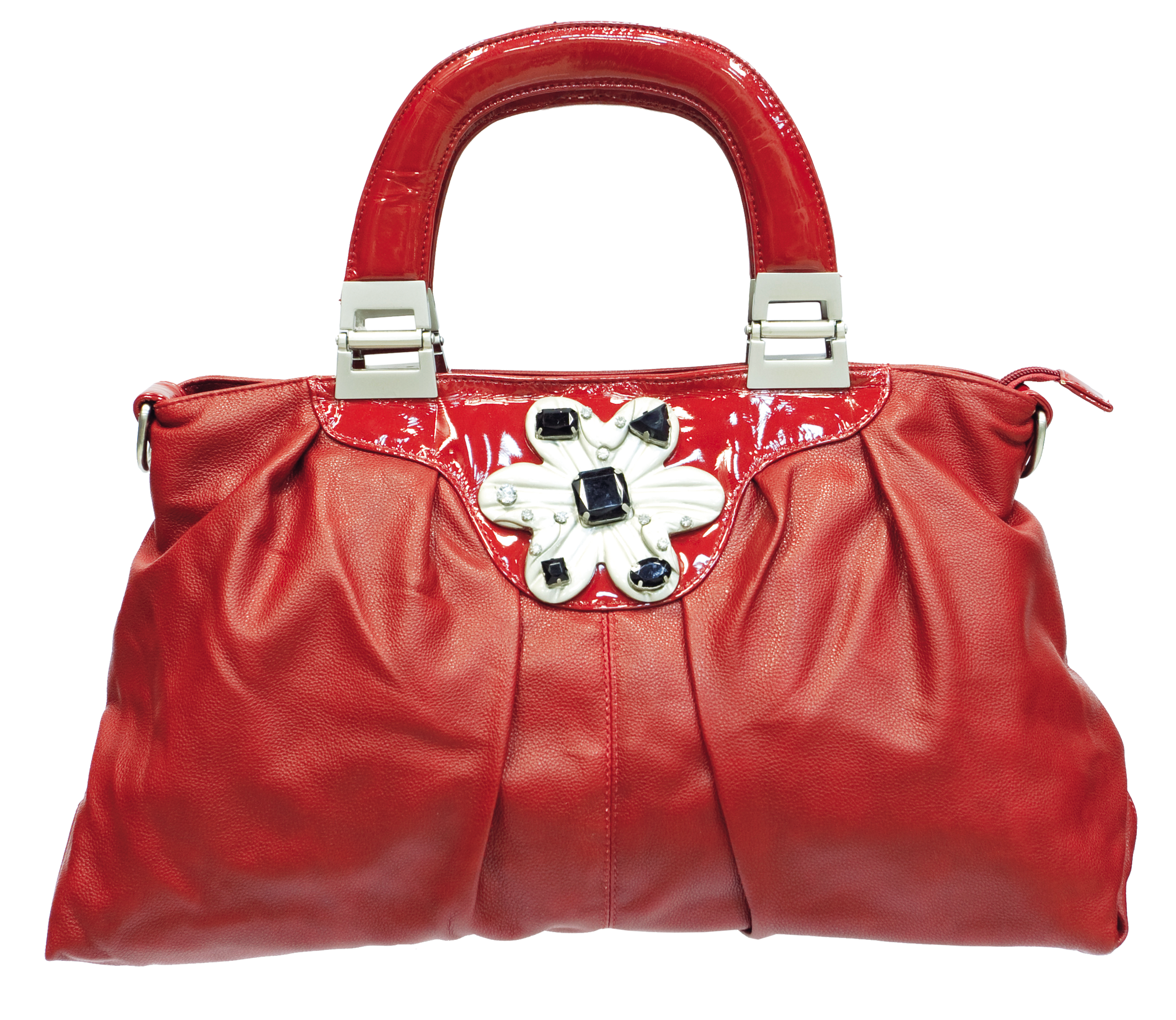 Red Women Bag Png Image Trendy Purses Bags Red Leather Bag