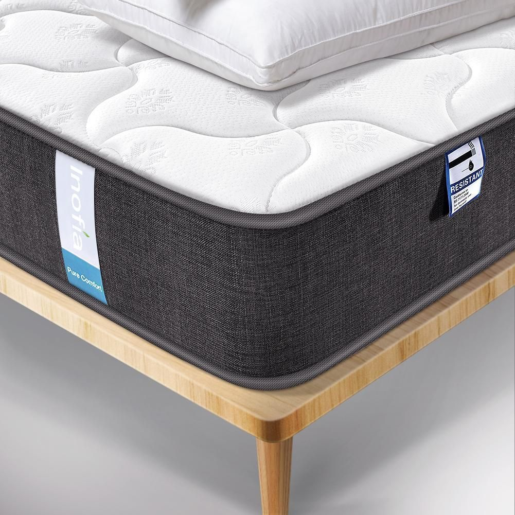The Inofia Comfy Mattress 3d Breathable Fabric Sprung Mattress Pocket Spring Mattress Breathable Fabric