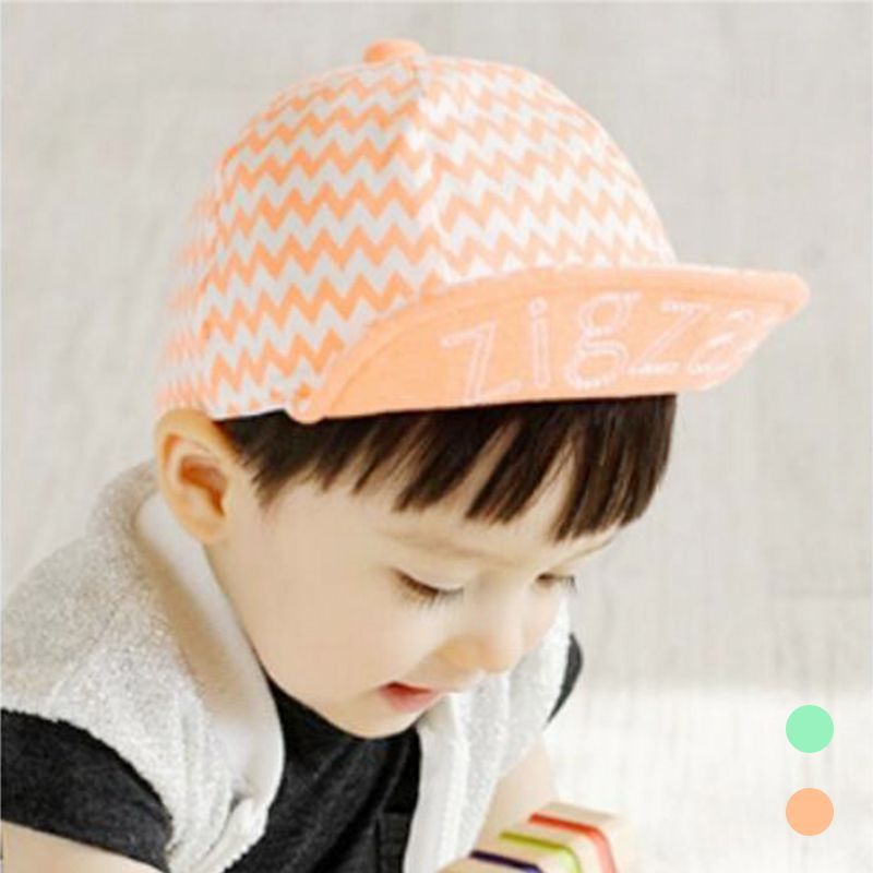 2017 NEW Fashion Hats for Children Baseball Caps flat top Summer Spring hat  for Boys Girls Waves Hats Shading cotton caps 936986a7336b