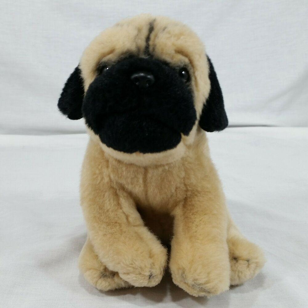 Webkins Signature Pug Plush Realistic Puppy Dog Stuffed Soft Toy