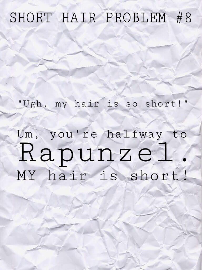 Short Hair Problems Short Hair Quotes Short Hair Problems Hair Problems Funny