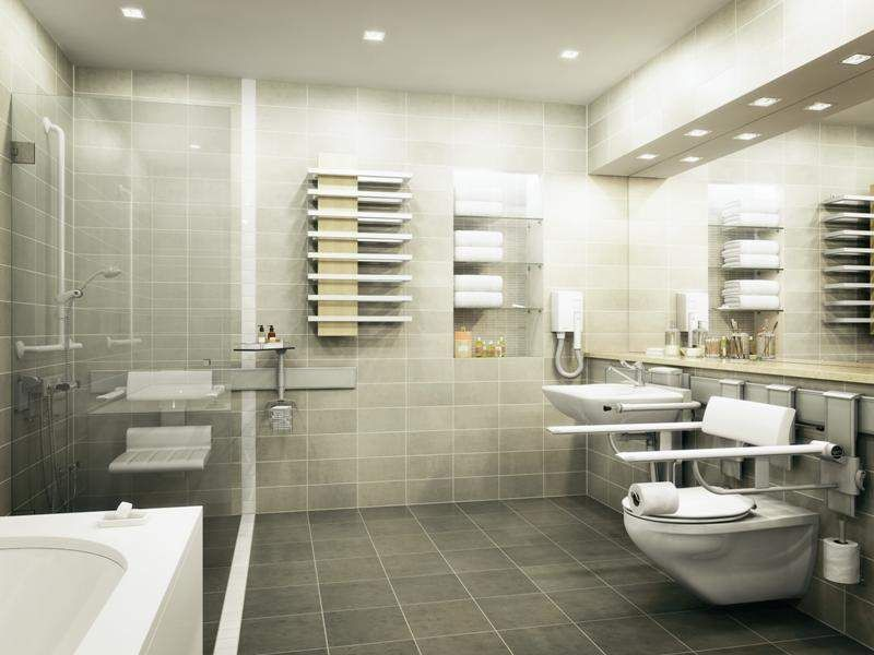 bathroom-safety-features | Family Friendly Bathrooms | Pinterest