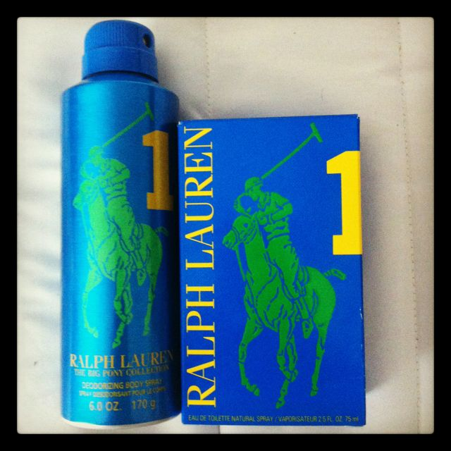 """Big Pony """"1"""" by Ralph Lauren meant to evoke a man's strength. Great lime & fresh feel with hints of grapefruit."""
