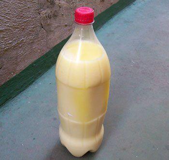 Acrescente manteiga de vaca derretida para uma qualidade melhor