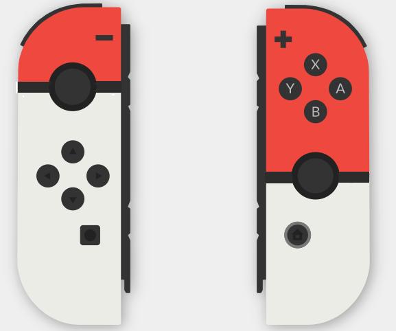 Cool Custom Nintendo Switch Joy Cons Look Like Poke Balls Juegos De Consola Consola Nintendo Switch Nintendo
