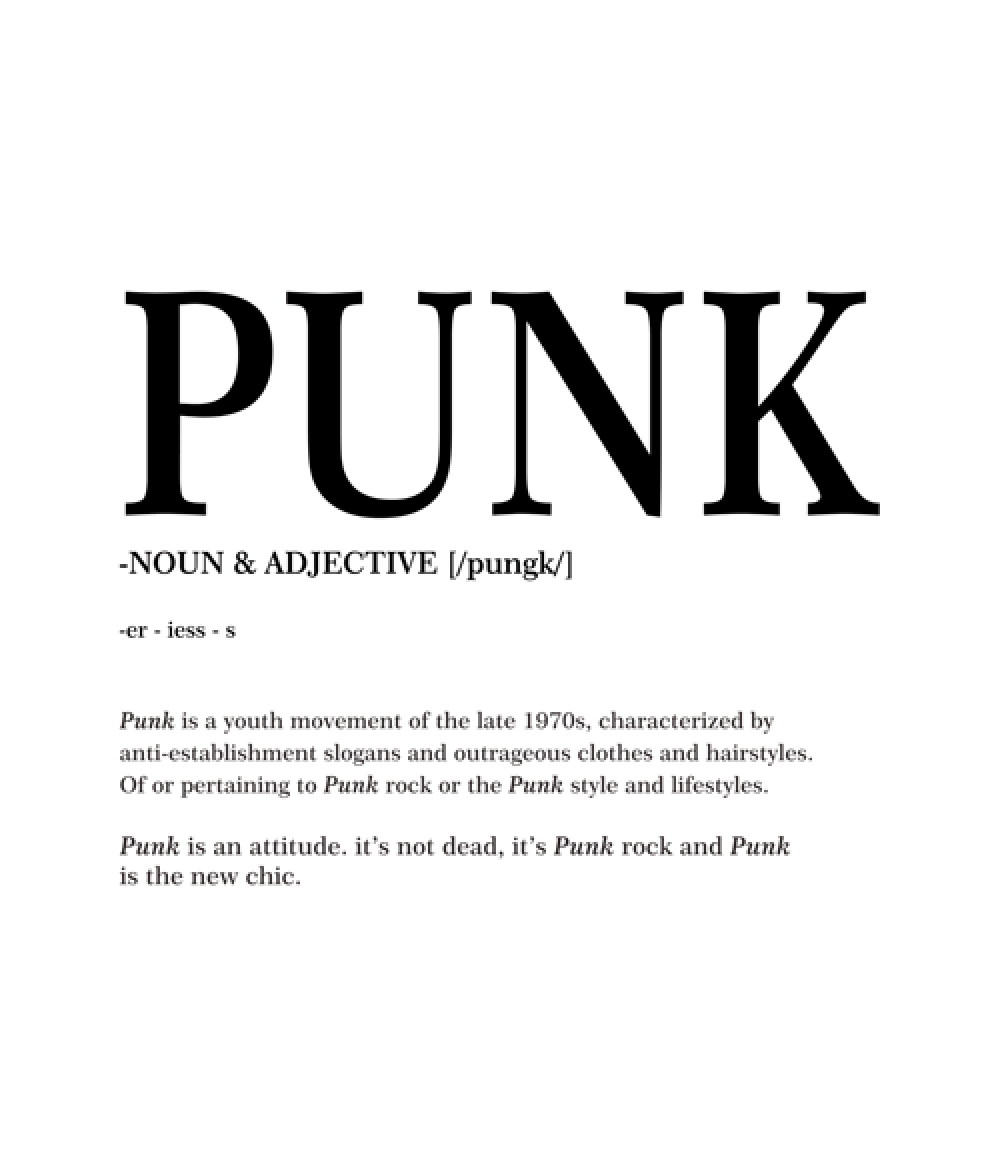 what does a- punk mean