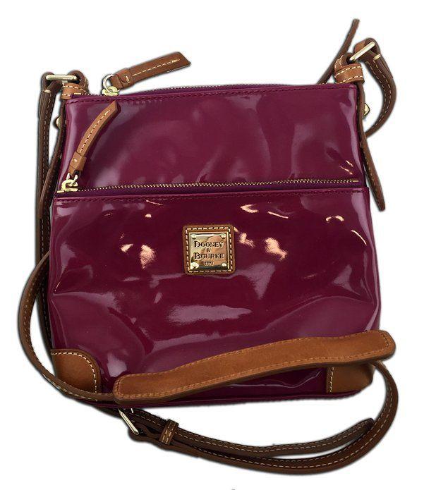Dooney & Bourke Pink Messenger Bag Style Purse with Cross Body Strap by Jolitee