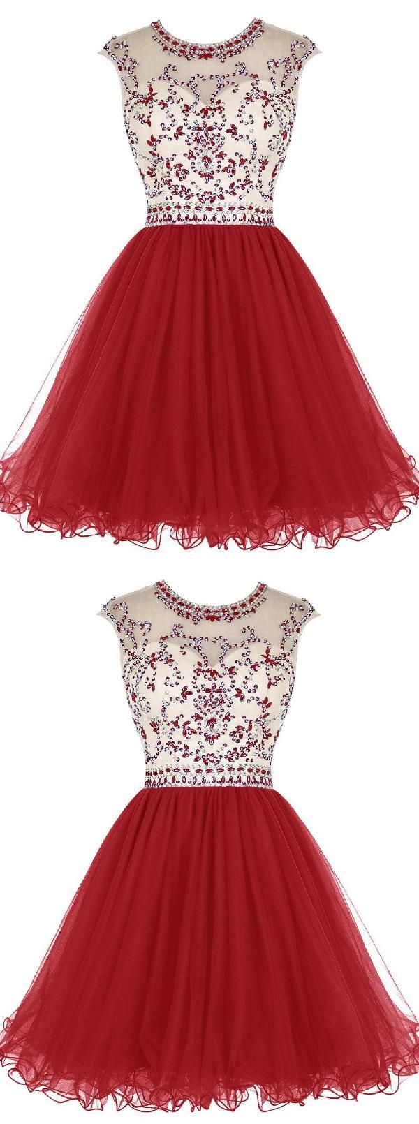 Red Homecoming Dress Homecoming Dress A Line Open Back Homecoming Dress Red Homecoming Dress Open Back Red Homecoming Dresses Homecoming Dresses Dresses
