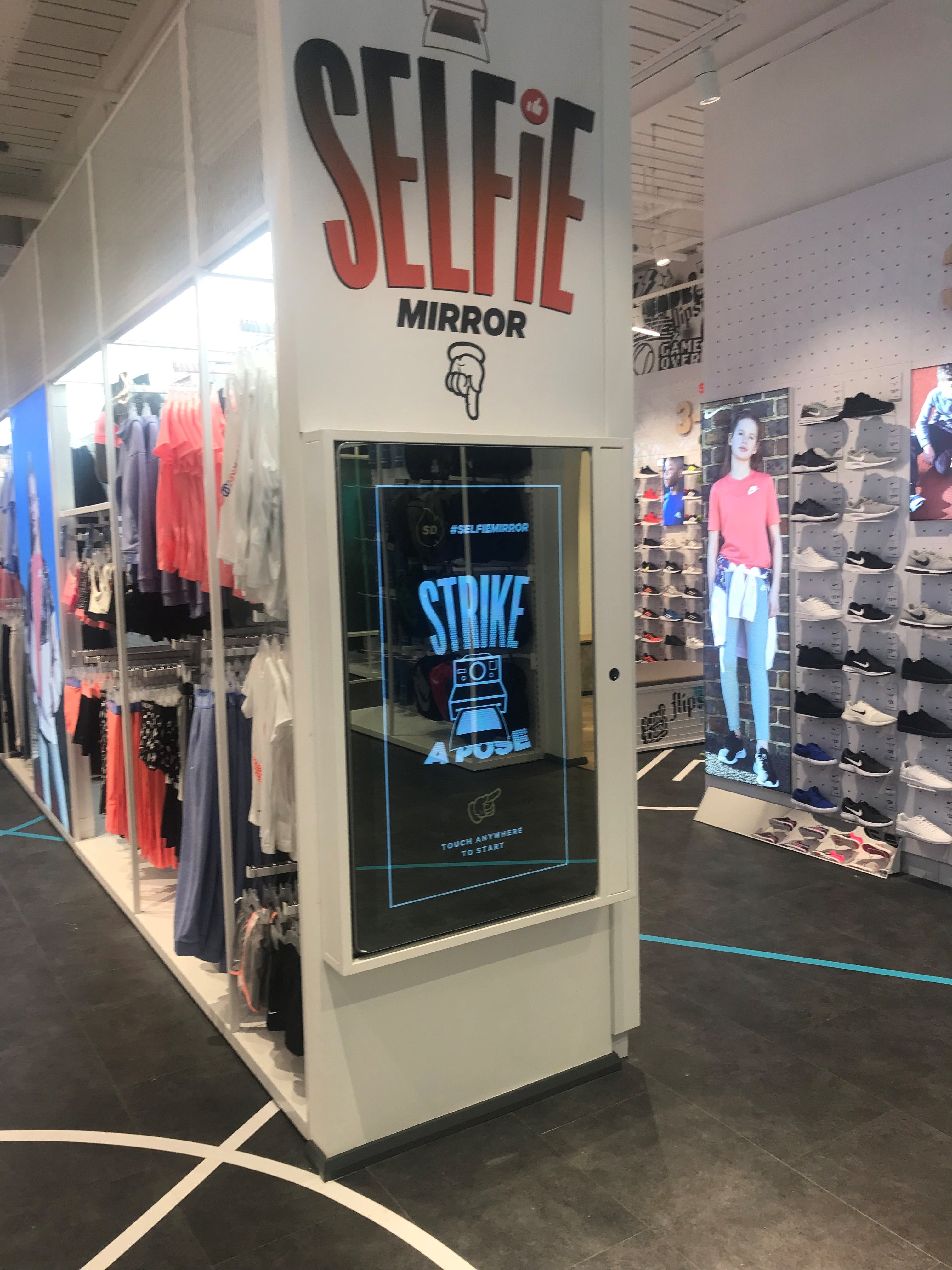Sports Direct flagship store Lakeside Thurrock Sefie