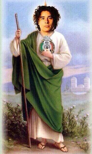 San Memo Ochoa, guardia de la portería.