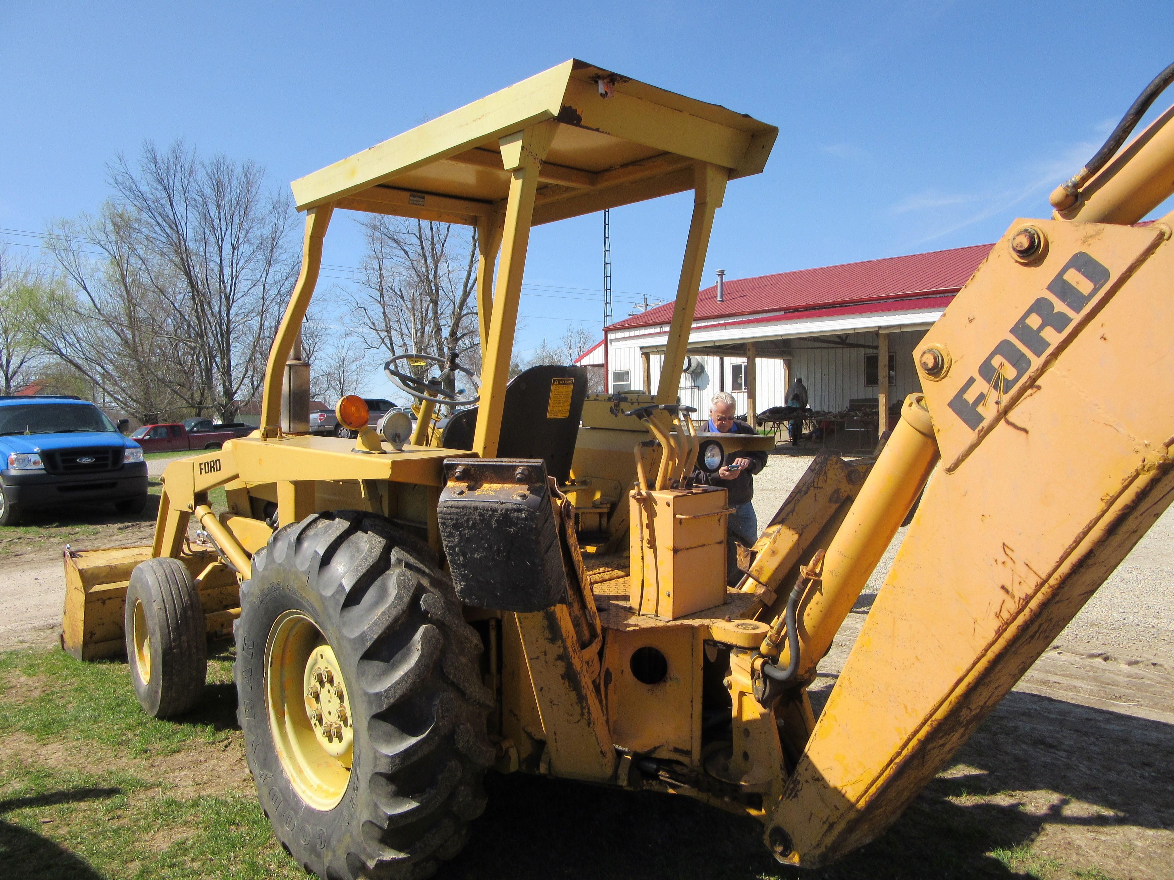 Ford 3550 Backhoe Ford Tractors Amp Equipment border=