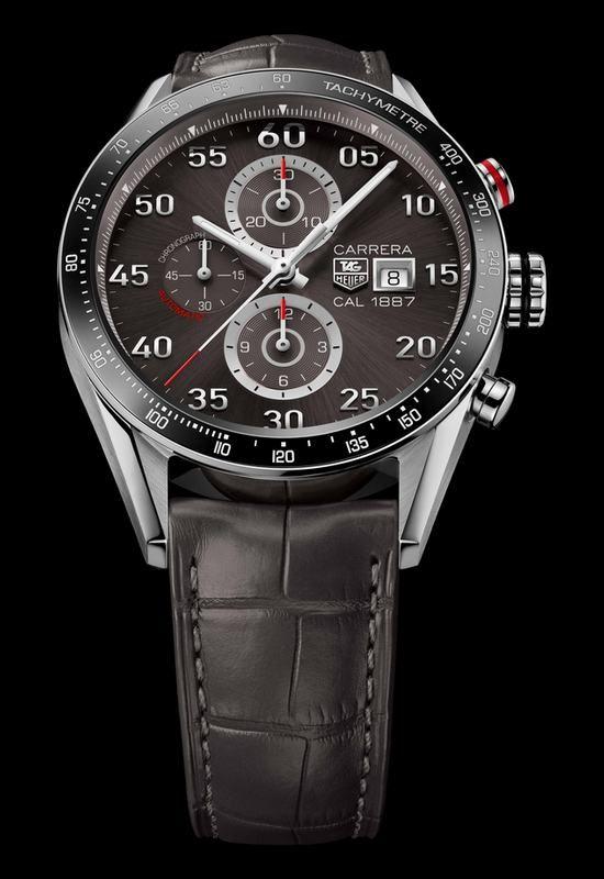 4b3bc913751 TAG Heuer Carrera Calibre 1887 Chronograph 43mm Watch CAR2A11.FC6313 ...